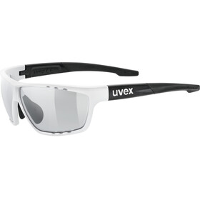 UVEX Sportstyle 706 V Sportglasses white matt black/smoke